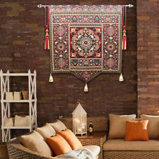 Living room background wall moroccan tapestry  decorative painting yoga club