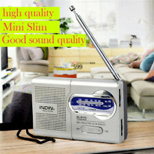 Mini Portable Pocket AM/FM Telescopic Antenna Battery Powered Radio Receiver