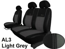 RENAULT MASTER 2003-2010 LEATHER & ALCANTRA SEAT COVERS MADE TO MEASURE FOR CAR
