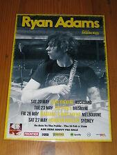 Ryan Adams - 2017  Prisoner Australian Tour -  Laminated  Promo Tour Poster