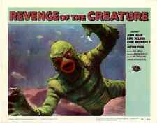 "Revenge of the Creature  Movie Poster Replica 11x14"" Photo Print"