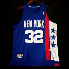 100% Authentic Julius Erving Dr J Adidas Soul Swingman HWC Nets Jersey Size M 40