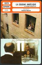 FICHE CINEMA : LA COUSINE ANGELIQUE - Carlos Saura 1973 - Cousin Angelica