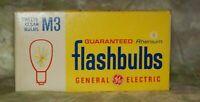 GE M3 flashbulbs 12 clear bulbs new