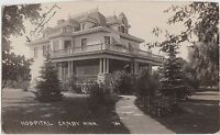 Minnesota Mn Real Photo RPPC Postcard c1910 CANBY Hospital Building