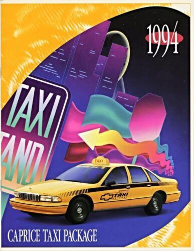 Catalog 1994 Chevrolet Caprice Travelbon.us