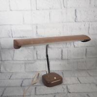 "Vintage Mid-Century 16"" Gooseneck Desk Lamp"