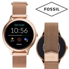 FOSSIL Gen 5E Smartwatch Rose Gold Android IPhone Fitness Tracker Heart Rate