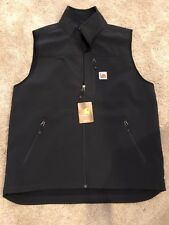 Carhartt NEW Mens Black Size Large L Vest Jacket