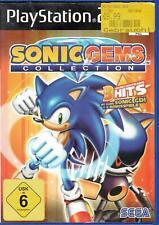 Sonic Gems Collection Sony Playstation PS 2 gebraucht, in OVP, gut OHNE Bonus-CD