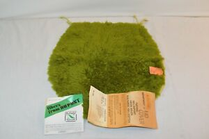 Vintage NEW 60s 70s Shag Carpet Green Bathroom Toilet Seat Lid Cover NWT NOS