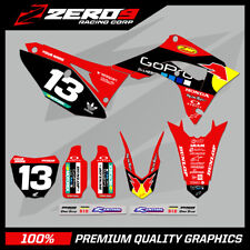 HONDA CR125-250 2004-2007 CRF250-450 2004-2020 MOTOCROSS MX GRAPHICS KIT PRO G