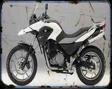 Bmw G 650Gs 11 2 A4 Metal Sign Motorbike Vintage Aged