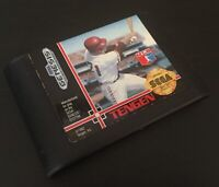 Sega Genesis RBI Baseball 4 MLB Tengen Video Game Cartridge 1992 Free Shipping!