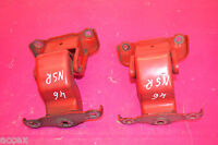 RENAULT TRAFIC SL27 1.9 dci SWB 2003 N/S/R LEFT REAR DOOR HINGES PAIR 312304 K