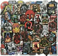 100pc Disney Star Wars PS4 XBOX Phone Notebook BB8 Darth Vader Decal Stickers