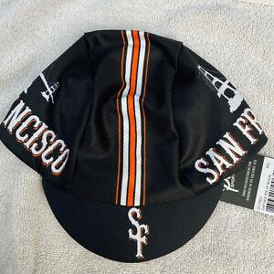 SAN FRANCISCO HEX-TEK® Wicking Polyester Team Cycling Cap NEW Bike Hat Free Ship
