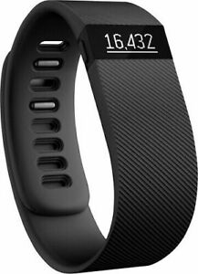 FITBIT CHARGE 1 Wristband Fitness Activity Tracker Red Large