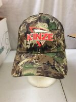 Baseball Cap Trucker Hat Hook And Loop Camo KINZE