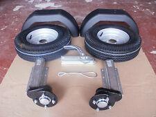 """750kg Unbraked Trailer Kit Knott Avonride Independent Suspension units 10""""wheels"""