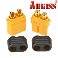 10 Pair Amass XT60+ Plug Connector With Sheath Housing Male & Female