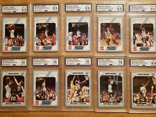 1989-90 MICHAEL JORDAN COLLEGIATE N CAROLINA  9.5 & 10 GRADED CCG GEM MINT CARDS