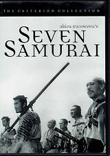 Seven Samurai Criterion Collection 1998 First Printing Oop Like New!