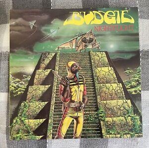 """Budgie LP Nightflight (1981) UK RCA 1st Press A-1U B-1U  Vinyl 12"""" LP Ex+/Ex+"""