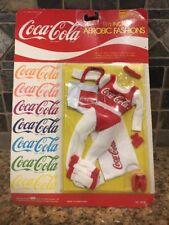 Vintage Coca Cola 1986 Aerobic Fashion Dolls Barbie Clothing 11.5� Toys R' Us