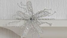 SWAROVSKI SILVER COLOR PROM WEDDING TIARA / HEADBAND