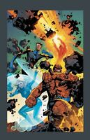 Fantastic Four #1 Emanuela Lupacchino 1:25 Variant - NOT A Virgin stock image