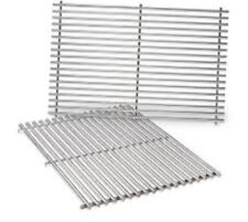 Weber 7528 Set of 2 Stainless Steel Cooking Grates for E-300 & S-300 Gas Grills