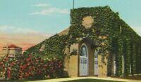 Vintage Postcard Fort Ft Benning Georgia Ivy Covered Doughboy Football Stadium
