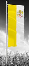 Vatikan Kirchenfahne Flagge Fahnen für Auslegermasten 120 x 300 cm