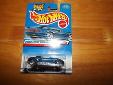 HOT WHEELS, 2000 FIRST EDITIONS, #20 OF 36, MX48 TURBO, BLUE, NOC