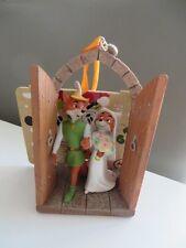 New DISNEY STORE Robin Hood and Maid Marian Wedding Sketchbook Ornament