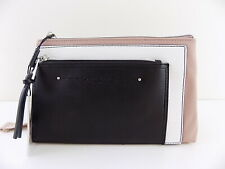 CALVIN KLEIN LISA Pink BLACK WHITE CROSSBODY FANNY PACK Belt Bag Handbag
