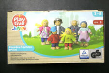 Playtive Junior City Bendable Doll Family 6 pack figure in box
