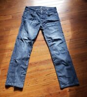 7 For All Mankind Men's Relax Standard Jeans Dark Wash Men's 33/31 33x31 Stretch