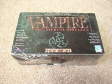 Vampire: The Eternal Struggle booster box with 36 packs - sealed