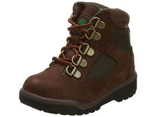 Timberland 6IN Field Boot Toddler Boys Brown Green Leather Mesh Kids Boots 44892