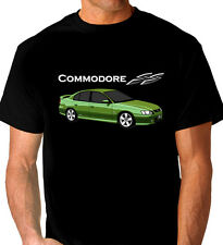 HOLDEN  VY  SS COMMODORE  QUALITY BLACK TSHIRT   ( 4  CAR COLOURS)  ALL SIZES