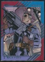 2015 Fleer Retro Marvel Trading Card #35 Nick Fury