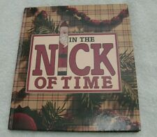 In the Nick of Time, hardcover book holiday crafts recipes decor quick and easy