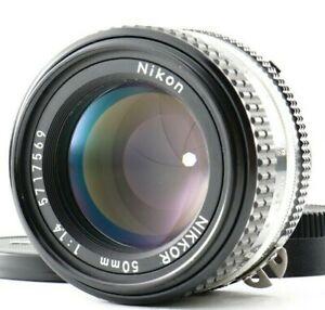 Near MINT Nikon Ai-s Ais NIKKOR 50mm f/1.4 MF Standard Lens from Japan