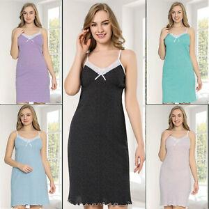 Ladies Chemise Women's Nightdress Nighty Shirt Nighties Nightshirt Night Wear