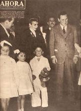 EVA PERON  JUAN PERON ORIGINAL MAGAZINE Argentina 1946