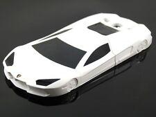 Lamborghini 3D sports car phone case..Samsung Galaxy s3 i9300..white