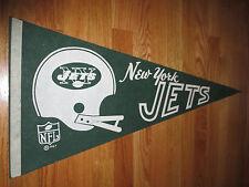 "Dated 1967 NEW YORK JETS 30"" Pennant JOE NAMATH"