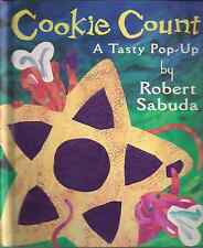 """ROBERT SABUDA """"Cookie Count - A Tasty Pop-Up"""" (1997) SIGNED 1st Printing 1ST ED."""